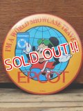 pb-909-13 Mickey Mouse / 80's EPCOT World Showcase Pinback