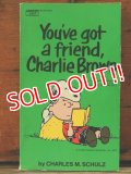 "bk-1001-19 PEANUTS / 1972 Comic ""You've got a friend,Charlie Brown"""