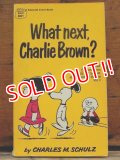 "bk-1001-10 PEANUTS / 1968 Comic ""Waht Next,Charlie Brown?"""
