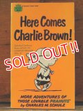 "bk-1001-20 PEANUTS / 1960 Comic ""Here Comes Charlie Brown!"""