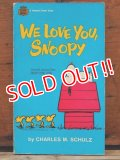 "bk-1001-14 PEANUTS / 1970 Comic ""We Love You, Snoopy"""