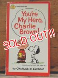 "bk-1001-16 PEANUTS / 1968 Comic ""You're My Hero,Charlie Brown!"""