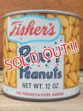 dp-111220-05 Fisher's / Vintage Party Peanuts Tin Can