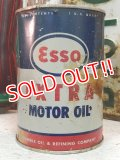 dp-131015-04 esso / 50's-60's EXTRA MOTOR OIL Can