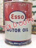 dp-131015-03 esso / 50's-60's MOTOR OIL Can