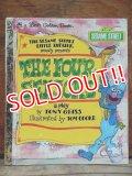 bk-130607-10 Sesame Street THE FOUR SEASONS / 70's Little Golden Books