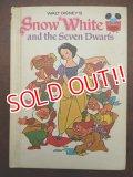 bk-131022-02 Snow White and the Seven Dwarfs / 70's Picture Book