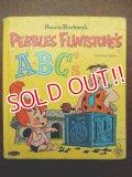 bk-120530-77 Pebbles Flintstone's A・B・C's / 60's Picture Book