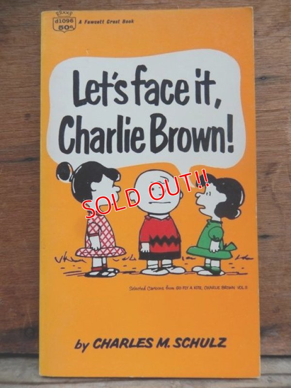 画像1: bk-131029-03 PEANUTS / 1960's Let's face it,Charlie Brown!