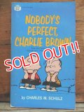 bk-131029-06 PEANUTS / 1969 NOBODY'S PERFECT,CHARLIE BROWN