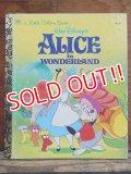 bk-131105-01 Alice in Wonderland / 90's Little Golden Book