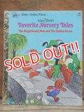 bk-120802-01 Walt Disney's Favorite Nursery Tales / 70's Little Golden Book