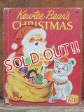bk-130508-03 Kewtee Bear's CHRISTMAS / 50's Book