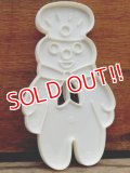 ct-131105-25 Pillsbury / Poppin Fresh 80's Plastic Cookie Cutter
