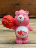 "ct-120804-07 Care Bears / Kenner 80's PVC ""Love a Lot Bear"""