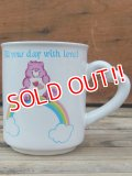 "ct-120710-05 Care Bears / 80's Ceramic Mug ""Love a Lot Bear"""