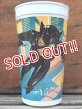 ct-131122-32 BATMAN RETURNS / CATWOMAN 1992 Plastic Cup