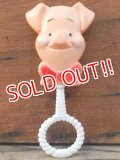 ct-101124-75 Piglet / Sears 70's Baby Rattle