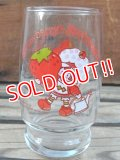 gs-130716-02 Strawberry Shortcake / 80's mini Glass