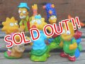 ct-131210-15 the Simpsons / 90's mini figure set