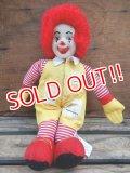 ct-131122-16  McDonald's / Ronald McDonald 80's doll