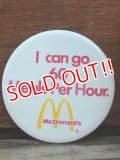 "ct-131122-27 McDonald's /  ""I can go 60 Meals Per Hour"" Piback"