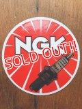 ad-1218-10 NGK / Spark Plug Sticker