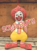 ct-120403-04 Ronald McDonald's / 70's Pillow doll