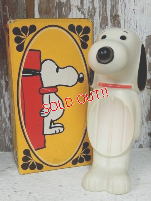 画像1: ct-131121-16 Snoopy / AVON 60's-70's Soap dish (Box)