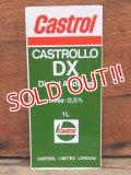 ad-1218-23 Castrol / DX Motor Oil Sticker