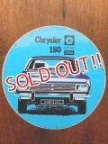 ad-1218-21 Chrysler 180 / Vintage Sticker