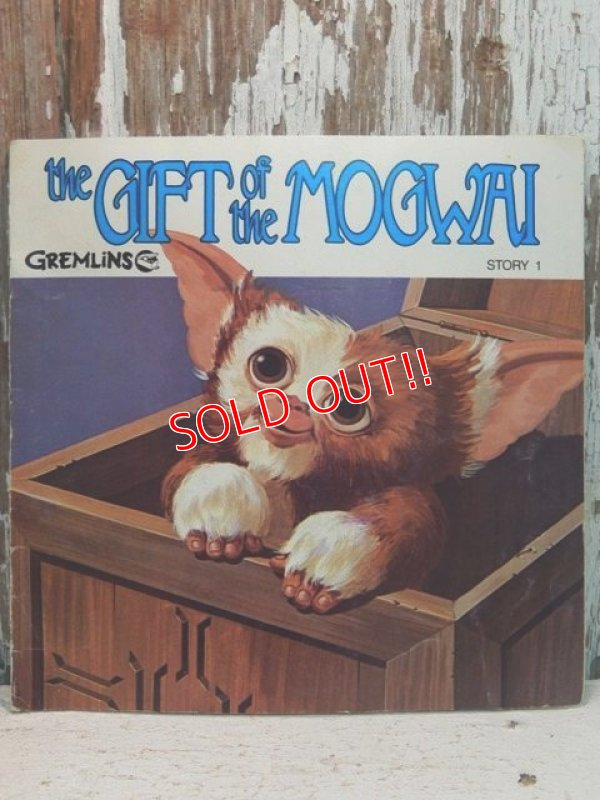 画像1: ct-140114-06 Gremlins / 80's Read-Along Record Story 1