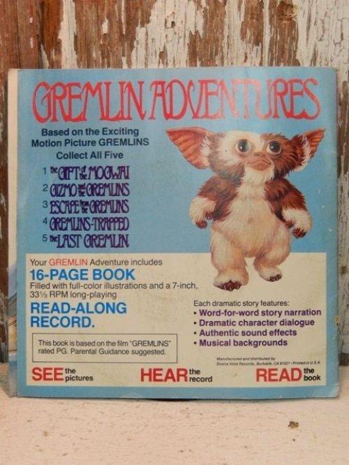 他の写真3: ct-140114-09 Gremlins / 80's Read-Along Record Story 4