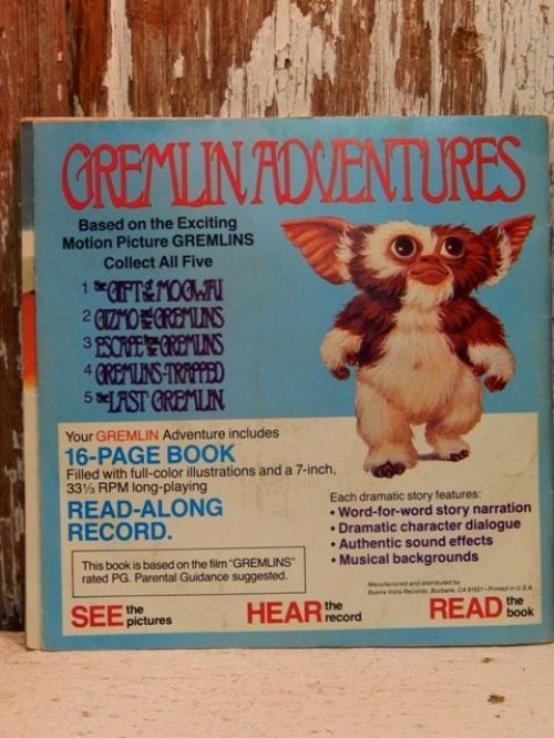 他の写真3: ct-140114-06 Gremlins / 80's Read-Along Record Story 1