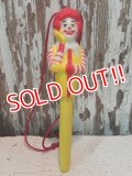 ct-140114-12 Ronald McDonald / 80's Pen Topper & Pen