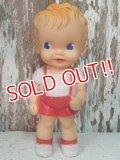 bt-140205-01 Sun Rubber / Ruth E Newton 50's Boy squeaky doll