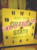 dp-120705-47 Quaker State / 60's Light Up Sign Clock