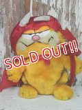 "ct-140211-70 Garfield / R.DAKIN 80's Plush doll ""Red Devil"""