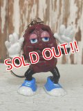 "ct-140211-64 California Raisins / 80's PVC Keychain ""Justin X. Grape"""