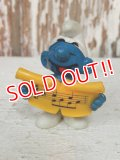 "ct-101124-24 Smurf PVC ""Singer"" (A) #20038"