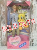 ct-140211-19 Waner Brothers Studio Limited / 1998 Barbie Loves Tweety Doll