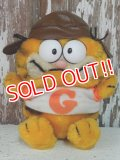 "ct-140211-73 Garfield / R.DAKIN 80's Plush Doll ""Pilot"""