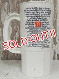 ct-140401-42 McDonald's / 80's Menu Plastic Mug