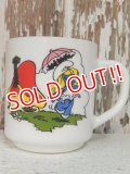 ct-140401-10 Smurf / 1984 Milk glass mug (France)