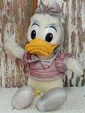 ct-140318-48 Daisy Duck / 80's Plush Doll