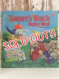 ad-813-11 McDonald's / 1991 Nature's Watch Happy Meal Translite
