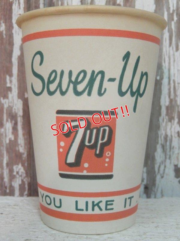 画像1: dp-140508-41 7up / 60's Paper Cup