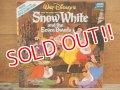 ct-140510-22 Snow White and Seven Dwarfs / 70's Record & Book