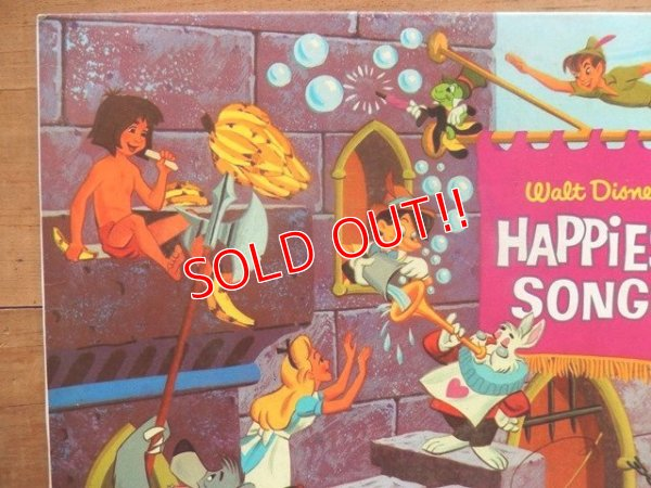 画像2: ct-140510-27 Walt Disney's / Happiest Songs 60's Record