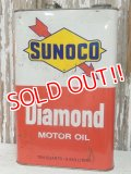 dp-140508-44 Sunoco / 60's Diamond Motor Oil Can